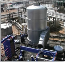 9-tonne Cyclonic Separator made from 304L stainless steel