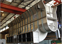 210 tonne drying plant made from 304L stainless steel