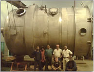 34 tonne Reactor more from 304L stainless steel